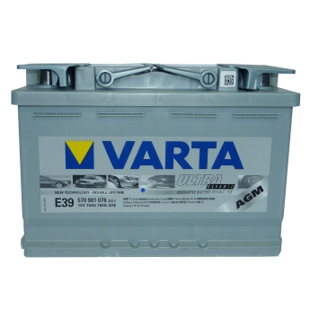 varta ultra agm batterie 12v 70ah boote wohnmobile gel ebay. Black Bedroom Furniture Sets. Home Design Ideas